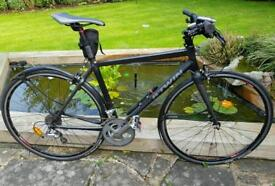Road bike BTWIN Triban 7 carbon aluminium
