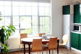 Desks available at our creative studio in Haggerston, close to Shoreditch & Dalston