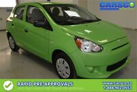 2015 Mitsubishi Mirage DE, LOCAL, NO ACCIDENTS, NEW CONDITION