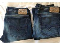 Diesel Zathan Jeans new