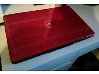 RED Dell inspiron 1545 laptop, windows 7, wifi, webcam, in full working order.