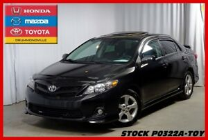 2013 Toyota Corolla S/5VITESSES/TOIT OUVRANT
