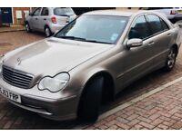 C220 Desil Mercedes silver avant-garde for sale