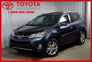 2013 Toyota RAV4 Limited/AWD/CUIR/TOIT OUVRANT