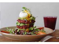 Head Chef, brunch restaurant, Australian cuisine, daytime hours, creative input essential