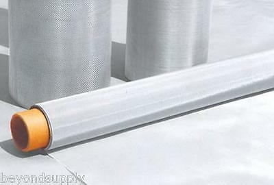 """48 Micron Stainless Steel 300 Mesh 316L Woven Wire filtration oil Screen 12""""x36"""""""