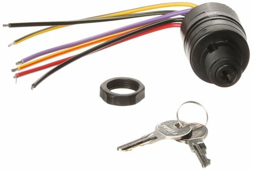 Mercury 20 to 300HP Ignition Key Switch Outboard Carb Push-to-Choke 6Wire3Pos MD