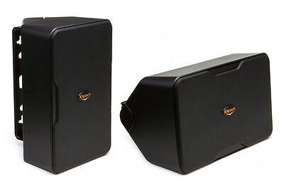 Klipsch Compact Performance Series Outdoor CP-4 speakers Pair Black  B-Stock
