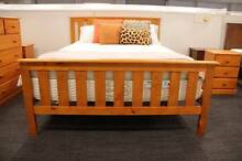 【On Special】Mars Solid Pine Double/Queen BED Nunawading Whitehorse Area Preview