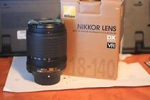 NIKON 18-140 VR LENS Brisbane South West Preview