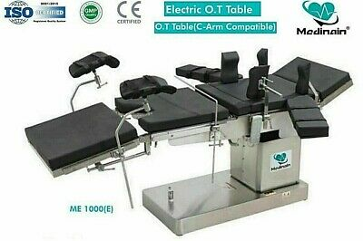 Fully Electric C-arm Compatible Operation Theater Table Ot Table Surgical Table