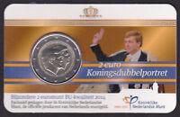 Olanda 2 Euro Commemorativivo 2014 Coin Card Doppio Ritratto Re Willem E Beatrix -  - ebay.it