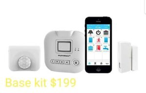 Security alarm system install with no monthly fees