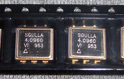 10 Pcs Sgulla-4m096000 Vectron Vcxo Smd Crystal Oscillators 4.096 Mhz Rohs