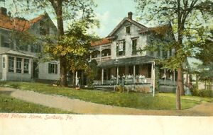 Sunbury,PA. The Odd Fellows Home   1907