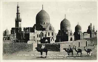 CAIRO - BLAUE MOSCHEE & KALIFENGRÄBER 1935 - 2 OriginalFotografien Silbergelatin