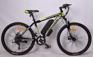 NEW ELECTRIC MOUNTAIN BIKE. NO FUEL. NO REGO. NO LICENCE REQUIRED