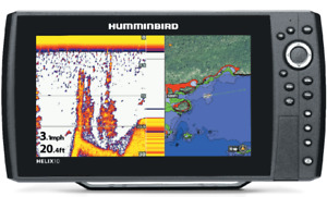 Humminbird Helix 10 & 12 Fish Finders with GPS
