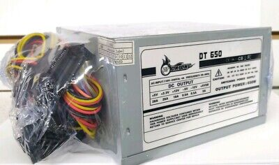 Brand NEW-- 650w Standard ATX 12V Quiet FAN Power Supply Desktop/PC PSU OEM/Bulk
