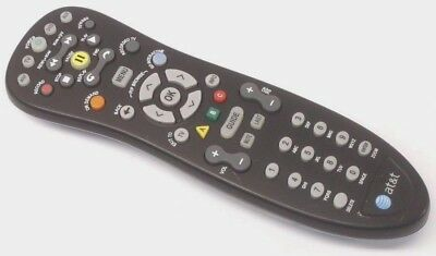 At&t Uverse 4 Device U-Verse Universal Remote Control Controller Model S10-S1