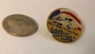 Walmart Private Fleet Safety Begins With You In 2002 Pin