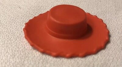"Disney  Pixar Toy Story Jesse  Doll 2"" Hat Replacement Part Red - Jesse Hat"