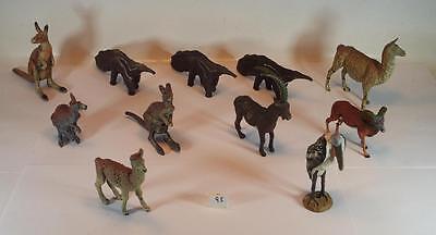 Elastolin / Lineol Masse Figuren Afrika Australien Diverse Wildtiere #093