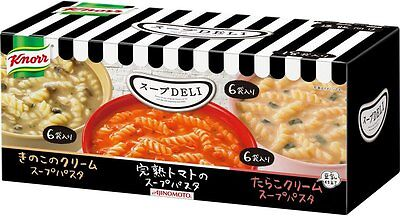 New Knorr DELI Variety Box 18 bags 3 tastes soup pasta F/S