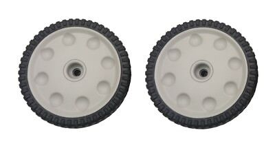OEM Troybilt Front Drive Self Propel Wheel Lawnmower Wheels (set of2) 734-04018C