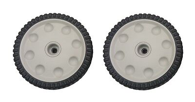 (2) MTD 734-04018B Geared Drive Front Wheel for Troy Bilt, Cub Cadet Mower - NEW