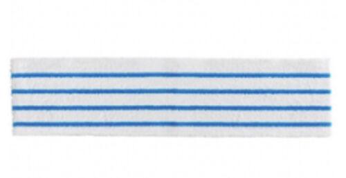 "Rubbermaid DISPOSABLE HYGEN MICROFIBER 18"" PAD, 150 CT, BLUE"