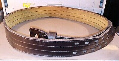 Safariland Black Law Enforcement Duty Belt Mdl 87 44 Belt. Used.