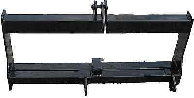 New 3 Point Hitch Attachment For Skidsteer Quick Attach Free Ship
