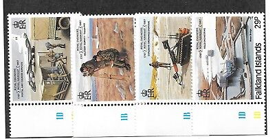 FALKLAND ISL. Sc 457-60 NH issue of 1987 - SCIENCE. Sc$10