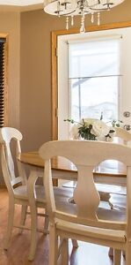 **SOLD PEND P/U -Table/4chairs with matching side board