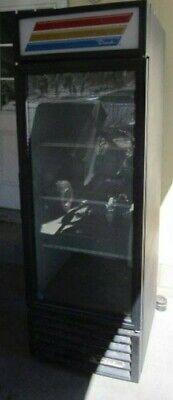 True Gdm-23 Used Single Door Refrigerator Merchandiser Glass Door