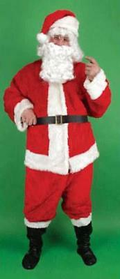sale COMPLETE MEN SANTA CLAUS RED SUIT christmas dressup plush costume new - Santa Suit Sale