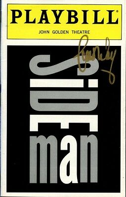 SIDE MAN Playbill Signed By SCOTT WOLF