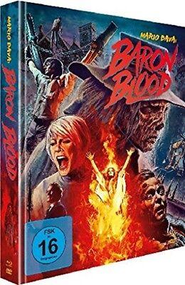 Mario Bava Mediabook BARON BLOOD Limited Edition ELKE SOMMER BLU-RAY DVD Neu