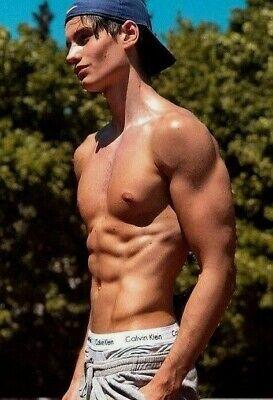 Cute Male Tight Uniform Muscular Arms Jock Frat Guy Dude PHOTO 4X6 P1560**