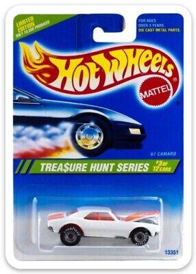 MAGNET Hot Wheels  1995 TREASURE HUNT  # 3 '67  CAMARO MAGNET for Fridge toolbox