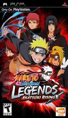 Namco Naruto Shippuden: Legends Akatsuki Rising Psp Sony Psp