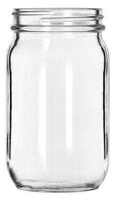 Conjunto De 24 Pequeño Mason Cristal Cóctel Bebida Postre Bebible Botes 118ml