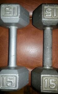 Steel Hand Weights (Poids)