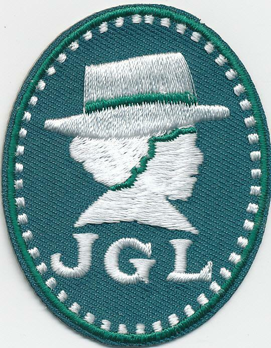 Girl Boy Cub JULIETTE GORDON LOW Green JGL Fun Patches Crests Badges SCOUT GUIDE
