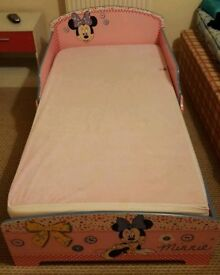 Toddlers Mini mouse bed