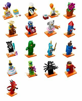 Lego Minifigure 71021 Series 18 Party 40 Years Minifigures IN-Hand - New Years Parties