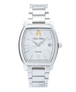 NEW Authentic Brooks Brothers Rectangular Watch Stainless Steel