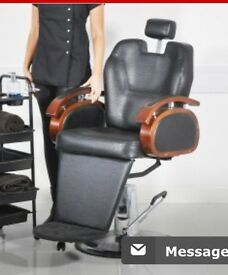 2 x barber chairs