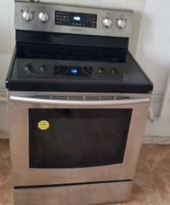 Samsung stainless stove with convection - delivery